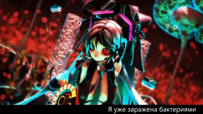 Hatsune Miku - Bacterial Contamination (rus sub)