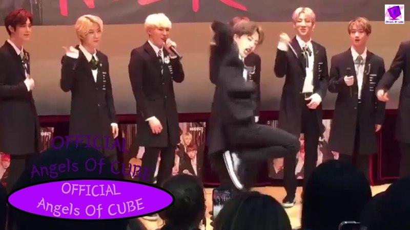 Idols dance and sing to Pentagon 'Shine' (Hellovenus, BTOB, Seonho, EXID, Imfact NOIR) Part6