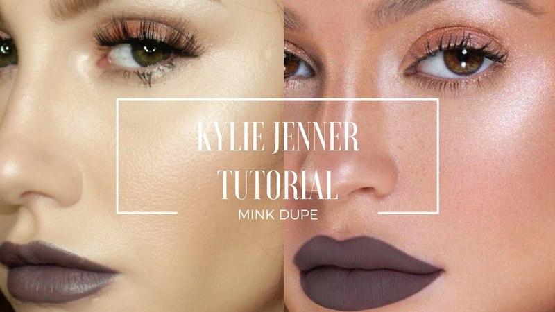 Kylie Jenner Makeup Tutorial - Mink Dupe