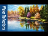 Paint water and reflections in Acrylics - PART 2