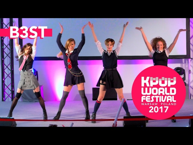 BLACKPINK - As If It's Your Last (Dance cover by B3ST @ K-POP World Festival 2017 Poland)