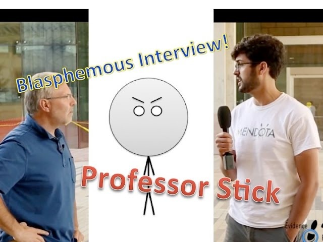 Silly Interview to Disprove Evolution
