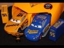Disney Store Cars 3 Fabulous Lightning McQueen Dinoco Cruz Ramirez Launcher Set
