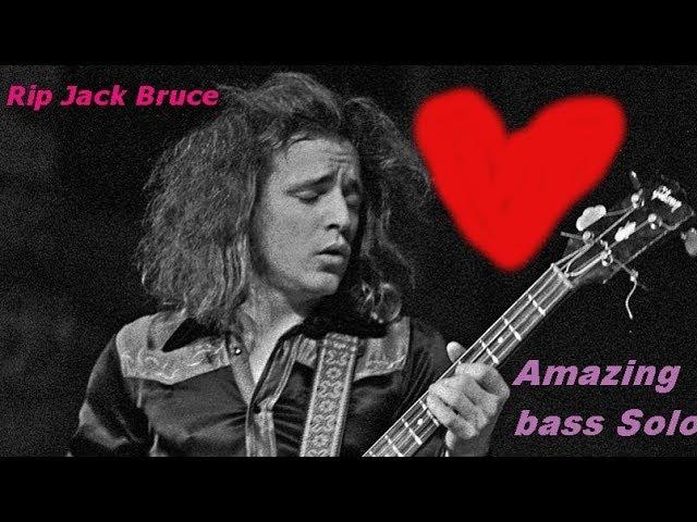 Jack Bruce AMAZING BASS SOLO!