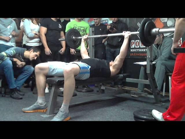 Михалап А, 75на53, СВ=86,20 кг, Класс Русский Жим, 02.12.2012