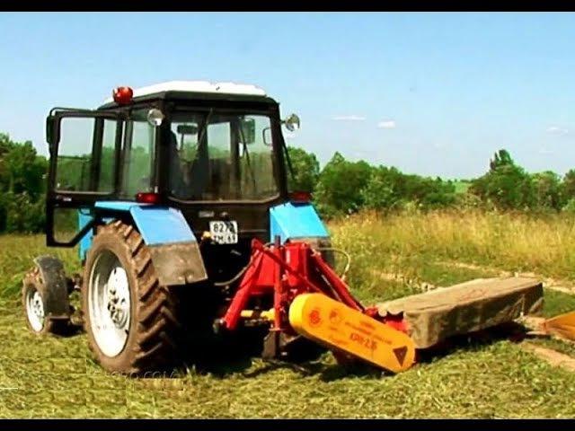 Косилка роторная навесная КРН-2,1Б на трактор МТЗ