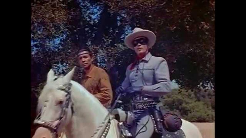 Одинокий рейнджер 1956 The Lone Ranger Вестерны смотреть онлайн бесплатно Western