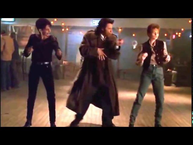 Michael 1996 John Travolta Dance scene