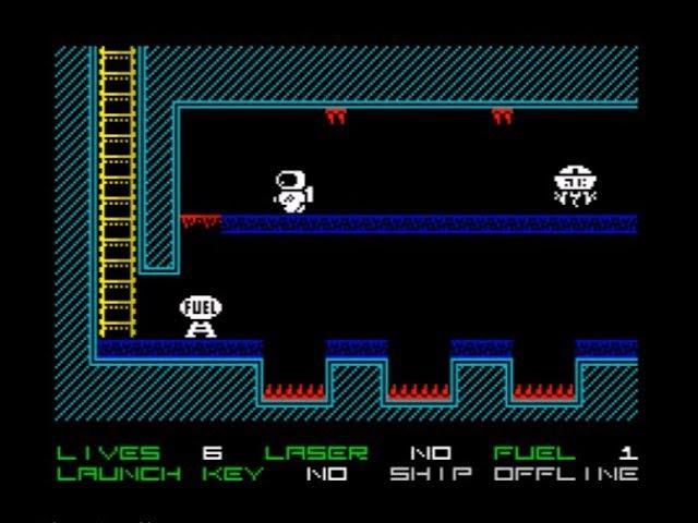 Space Escape Walkthrough, ZX Spectrum