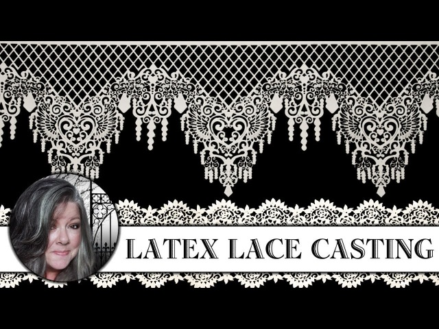 Latex Lace Casting