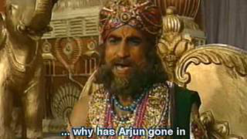 Махабхарата I Mahabharat - 54 Серия из 94 (1988-1990)
