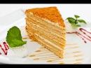 Торт Медовик Классический рецепт с пошаговым приготовлением