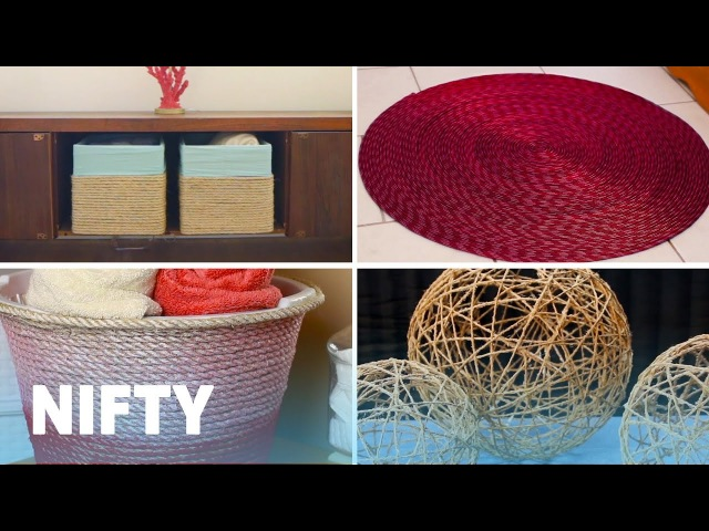6 Easy Rope DIY Projects