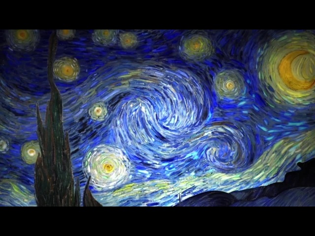 The Starry Night (Vincent van Gogh, 1889)