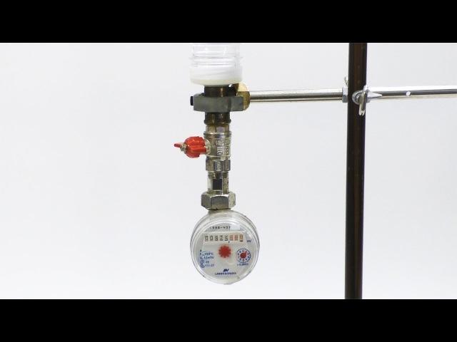 Как остановить счётчик воды без магнита - оригинальное решение Часть 2
