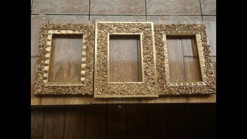 DIY: Como decorar porta retratos com grão de arroz lindo e decorativo