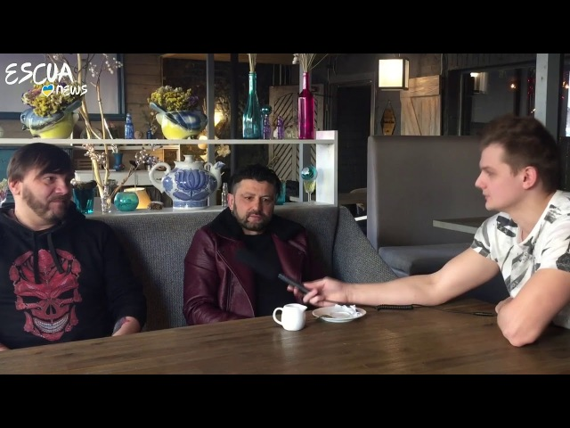 Interview with KOZAK SYSTEM (Ukrainian National Selection for Eurovision 2018)