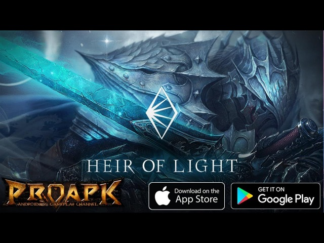 HEIR OF LIGHT ENGLISH Gameplay Android iOS (by GAMEVIL) (CBT)