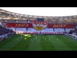 VfB Stuttgart - Eintracht Frankfurt  Choreo  BL1314 Cannstatter Kurve TV Ultras Stuttgart