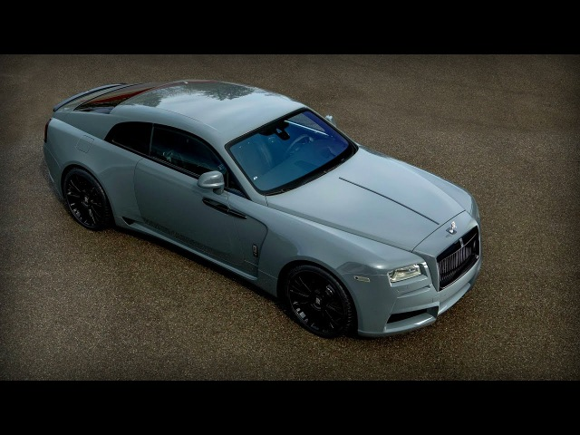 Rolls Royce Wraith on STEROIDS