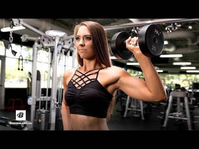 12-Move Upper-Body Workout for Women | Sarah Hunsberger, NPC National Bikini Champion