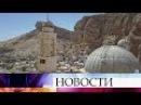 ВСирии реставраторы восстанавливают разрушенный боевиками монастырь Святой Ф...