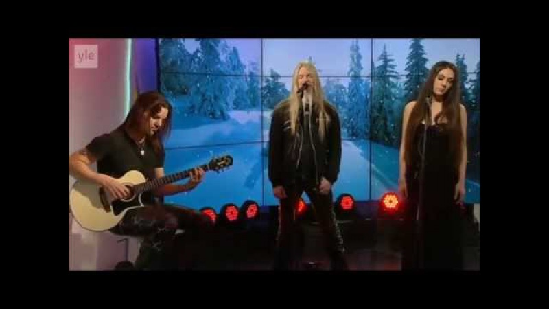 Marco Hietala Elize Ryd - Ave Maria [YLE TV] HD