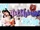 DIY Dollhouse Room Decor! Melanie Martinez Inspired Decor!