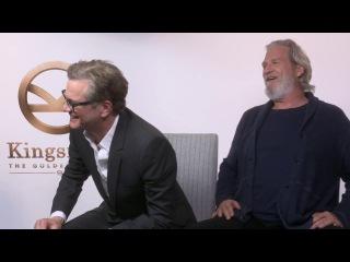 Colin Firth and Jeff Bridges talk KINGSMAN: THE GOLDEN CIRCLE