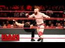 Dean Ambrose vs. Sheamus: Raw, Nov. 20, 2017