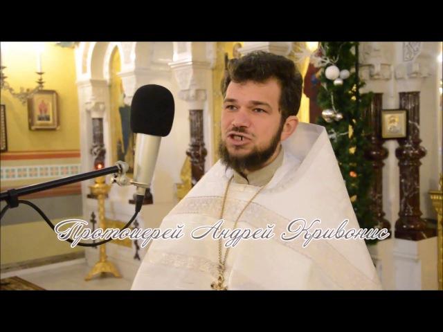 Проповедь в неделю 33-ю по Пятидесятнице, по Богоявлении. Протоиерей Андрей Кривонис. 2018 год