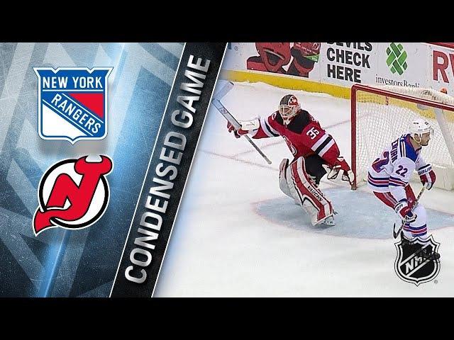 12/21/17 Condensed Game: Rangers @ Devils