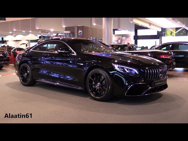 Mercedes S Class Coupe 2018 NEW REVIEW AMG S63 4Matic Interior Exterior