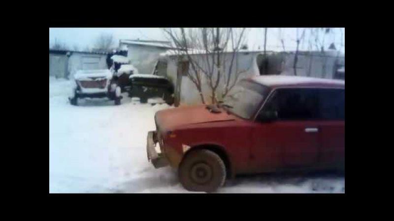 Первый выезд на снег удался.....Тазобудни.