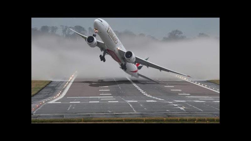 Aviões ao EXTREMO Crosswind vento de través ✱ BOEING vs AIRBUS ✱ Pousos e decolagens Incríveis