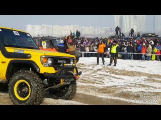 Кубок Маслова 2017 гонка 4x4 на озере сайран