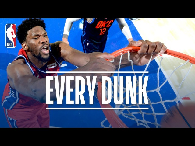 Domantas Sabonis, Russell Westbrook, and Every Dunk From Friday Night | December 15, 2017 NBANews NBA