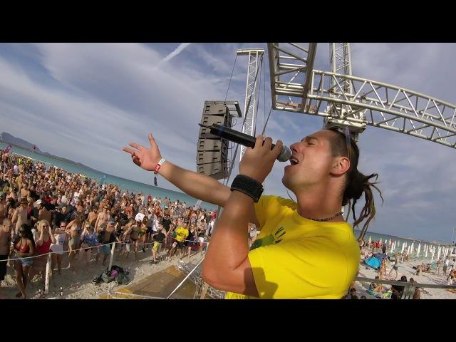 L-Side feat. MC Fava LIVE at La Cinta Beach, Sun And Bass 2017