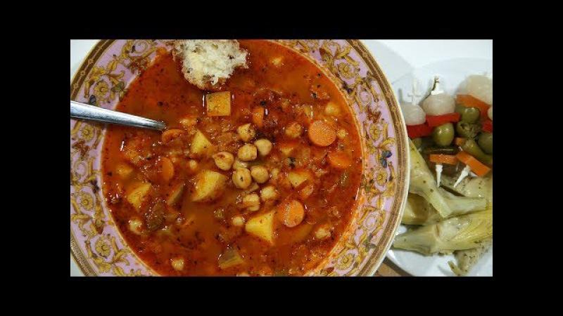 Սիսեռով Ապուր - Chickpea Soup Recipe - Heghineh Cooking Show in Armenian
