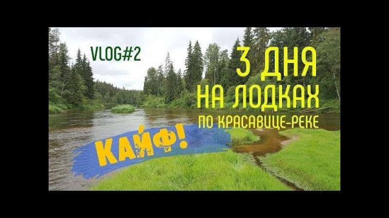 Влог №2. Трёхдневный сплав по Красивой реке Гауя, национальный парк Гауя, Латвия.