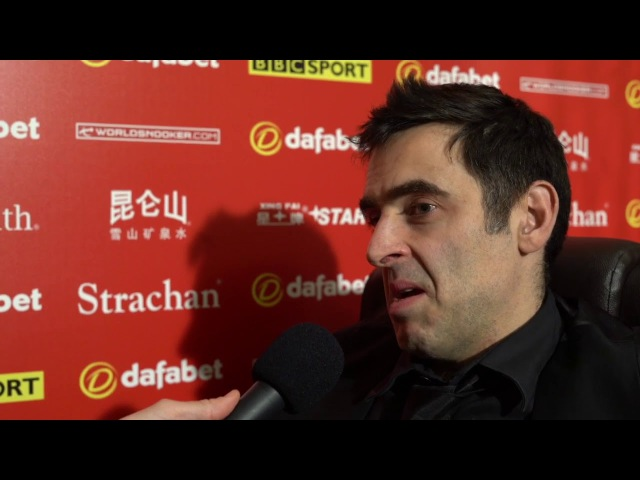 There's only two other players that are comfortable with being winners Ronnie O'Sullivan