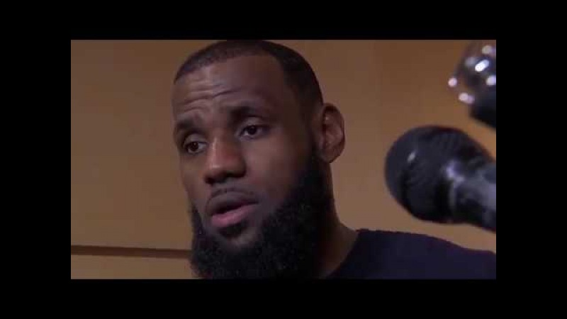LeBron James Postgame Interview Sixers vs Cavaliers March 1 2018 2017 18 NBA Season