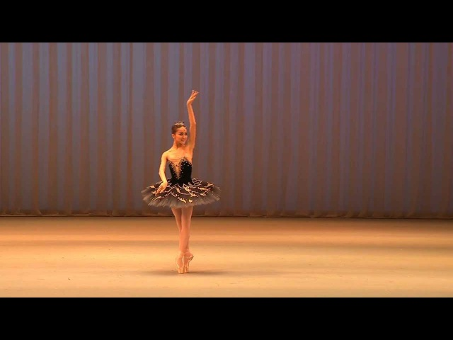 Miko Fogarty, 16, Moscow IBC, Gold Medalist - Black Swan -