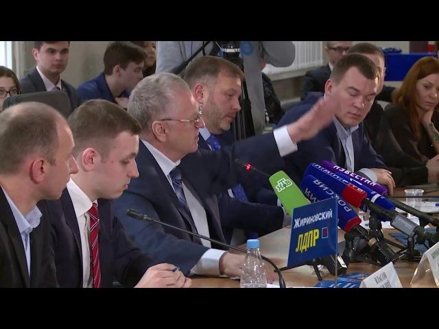 Встреча В В Жириновского с блогерами Часть 1