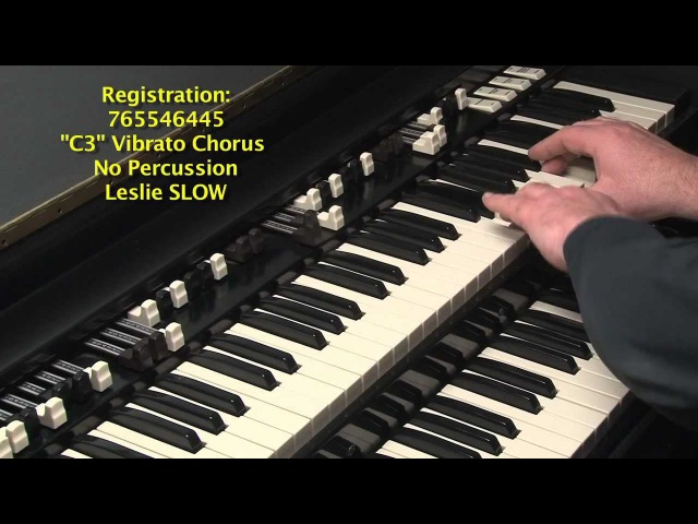 LESSON 26 - HOW TO PLAY JAZZ ROCK LICKS ON A HAMMOND B3 or C3 ORGAN