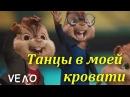 Элвин и Бурундуки поют-Танцы в моей кровати Лучший кавер клип