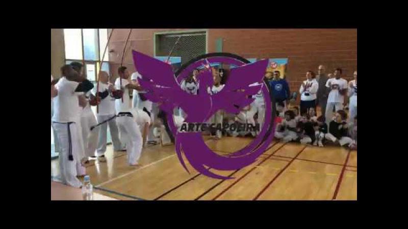 Démonstration Arte Capoeira - Gavião Branco / Milho Verde / Pilão / Haiti / Bocão / Novinha / Bala