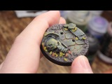 How to Paint Mossy Bases - Stormcast Eternals (Part 2) - Warhammer Underworlds Shadespire
