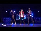 Зрелищный танец от лучших танцоров стиля Popping World of Dance Los Angeles
