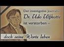 Udo Ulfkotte ERMORDET Mordmotiv Asylkritik o Pädophilie Enthüllungen